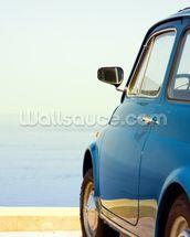 Vintage car mural wallpaper thumbnail