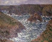 Port Domois at Belle Ile, 1886 wall mural thumbnail
