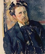 Portrait of Joachim Gasquet (1873-1921) 1896-97 (oil on canvas) mural wallpaper thumbnail