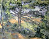 The Large Pine, 1895-97 (oil on canvas) mural wallpaper thumbnail
