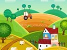 Farm and Tractor wall mural thumbnail