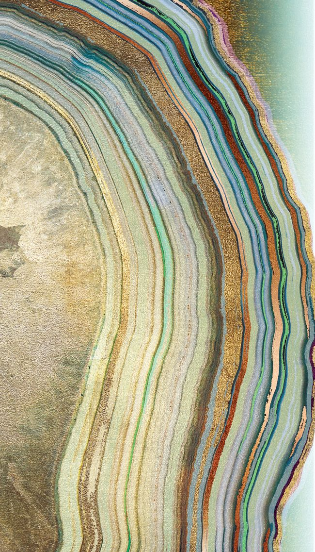Amazing Agate Wallpaper - The Interior Design Cousin of Marble