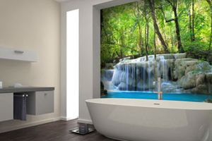 Stunning Waterfall Murals