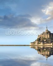 Mont Saint-Michel, Normandie wallpaper mural thumbnail