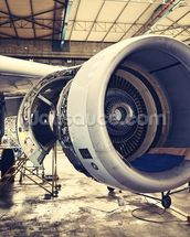 Jet Engine wallpaper mural thumbnail