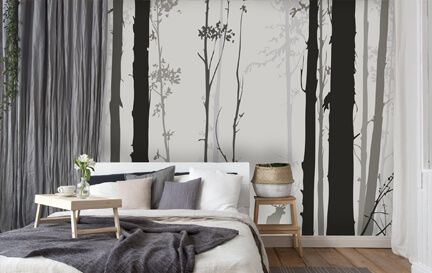 Bedroom Wallpaper. Wall Mural Wallpaper