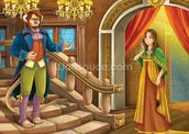 Beauty and the Beast wall mural thumbnail