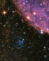 Supernova Remnant E0102 in the Small Magellanic Cloud wallpaper mural thumbnail