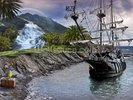 Pirate Ship at Anchor wall mural thumbnail