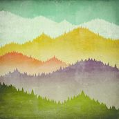 Mountain View mural wallpaper thumbnail