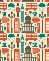 London Background wall mural thumbnail