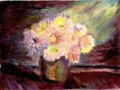 Flower Oil Painting wall mural thumbnail