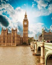 Big Ben wall mural thumbnail
