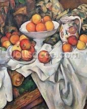 Apples and Oranges, 1895-1900 (oil on canvas) wall mural thumbnail