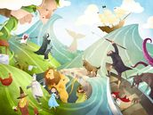 Waves Of Imagination wallpaper mural thumbnail
