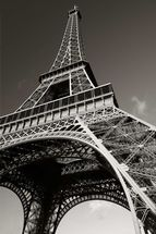 The Eiffel Tower wallpaper mural thumbnail