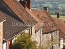 Gold Hill in Shaftesbury, Dorset wall mural thumbnail