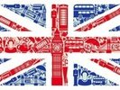 Union Jack Montage wall mural thumbnail