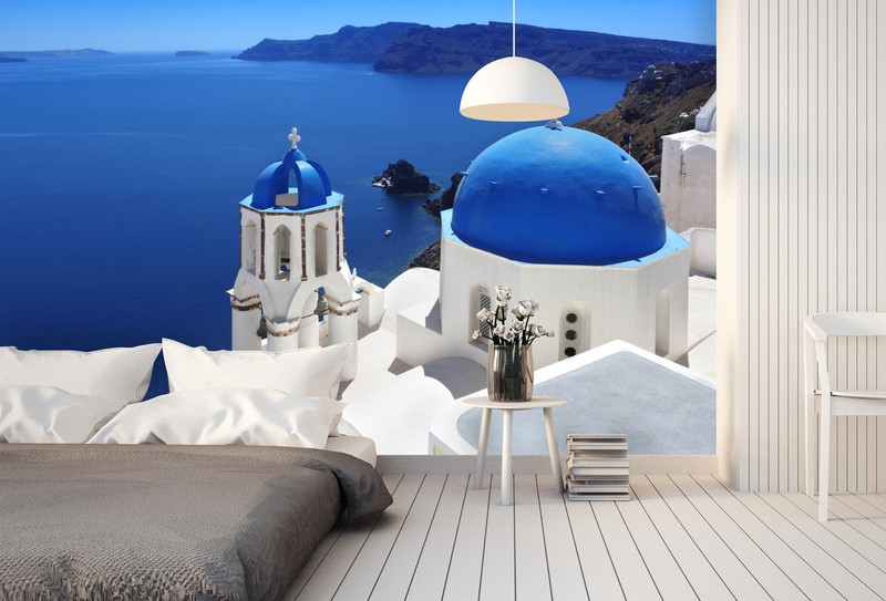 Santorini Photo Wallpaper