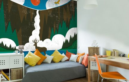 Michael Mullan Wall Murals Wallpaper