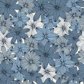 Camo blue wall mural camo blue wallpaper wallsauce usa for Camouflage mural