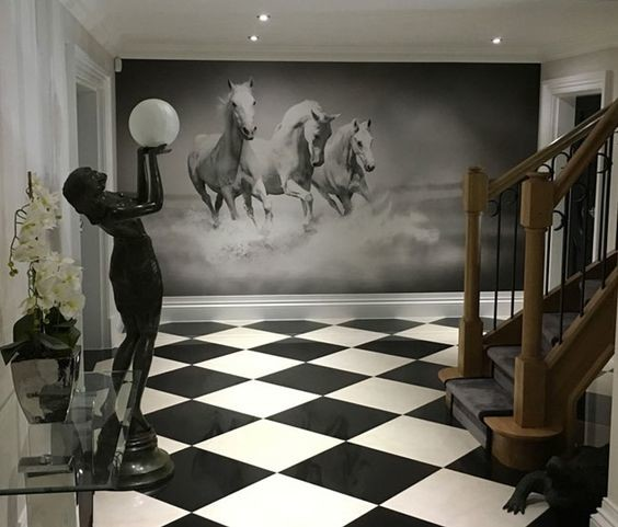 home-decor-inspiration-horse-wallpaper