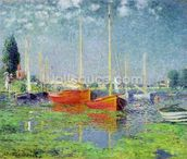 Argenteuil, c.1872-5 (oil on canvas) wall mural thumbnail