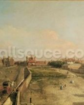 Whitehall (oil on canvas) wall mural thumbnail