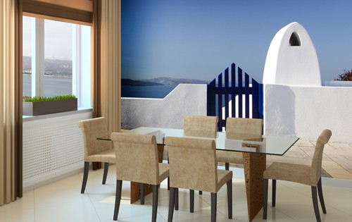 Wall Mural Inspiration For Dining Rooms, Dining Room Murals Pictures