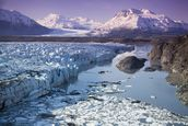 Knik & Colony Glacier Matanuska Valley Chugach Mountains wallpaper mural thumbnail