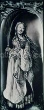 St. Lucy (c.283-c.304) (grisaille) wallpaper mural thumbnail