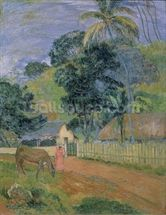 Landscape, 1899 (oil on canvas) wall mural thumbnail