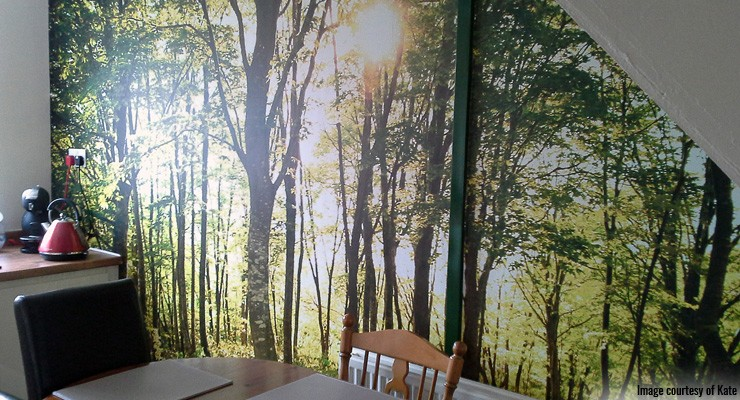 Forest-wall-mural-in-dining-room