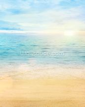 Sea and Sand Tranquility wall mural thumbnail