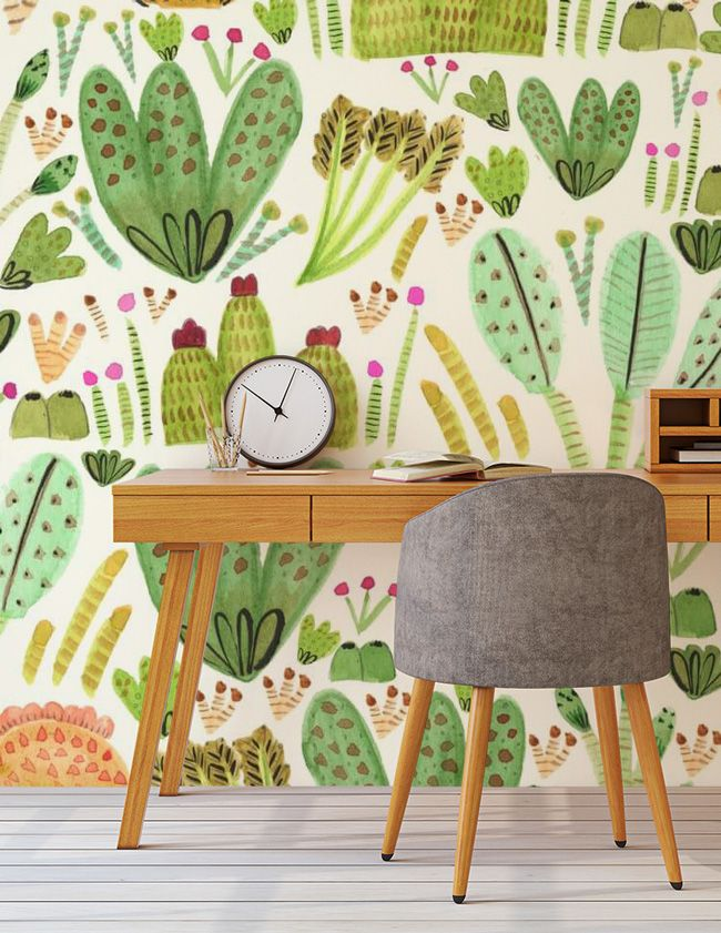 We're Loving… Cactus Wallpaper!