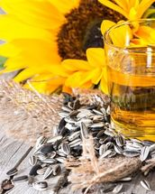 Fresh Sunflower Oil wall mural thumbnail