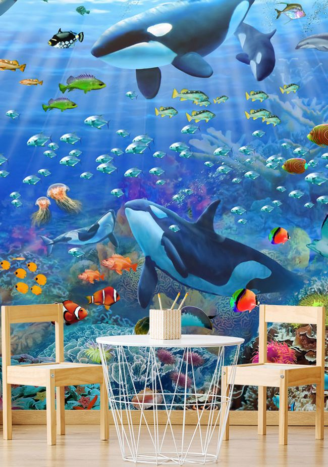 10 of the Best Ocean Wallpaper Murals