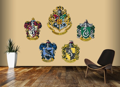... Potter Fans, To Create Wall Graphics For All The Harry Potter  Characters, But We Didnu0027t Stop At That, The Hogwarts Houses Have Amazing  Crests, ...