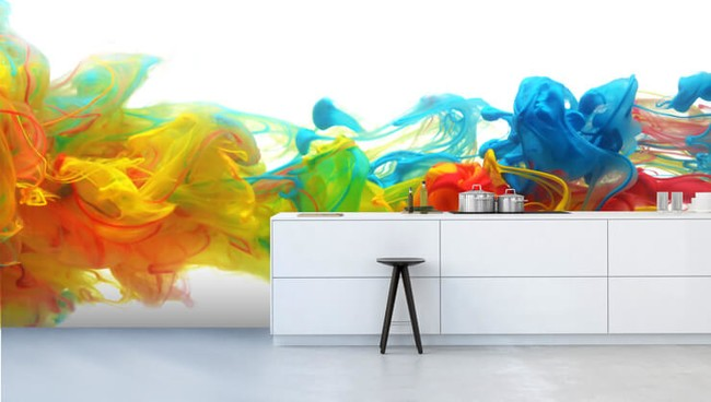 7 Funky Wallpapers for Kitchens