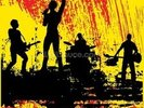 Rock Band wall mural thumbnail