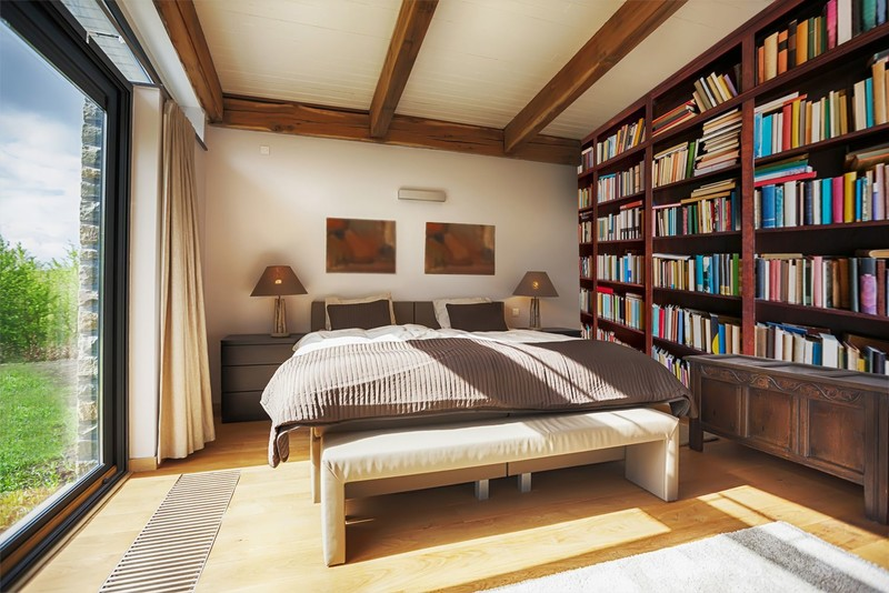 Bookcase-wallpaper