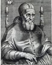 Pope Julius II (engraving) wallpaper mural thumbnail