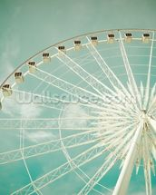 Ferris Wheel wall mural thumbnail