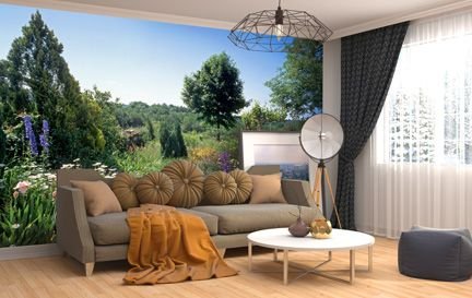 Garden Wallpaper Wall Murals Wallpaper