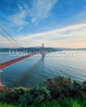 Harbour Bridge, San Francisco mural wallpaper thumbnail