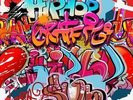 Hip Hop Graffiti wall mural thumbnail