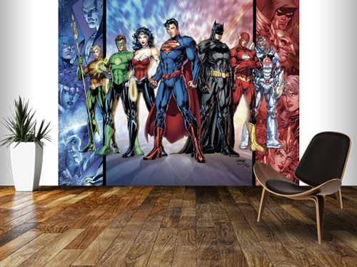 Justice League United Wallpaper Murals