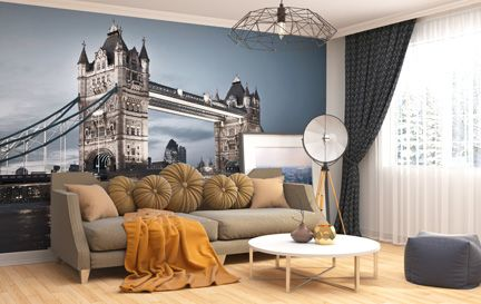 London Wallpaper Wall Murals Wallpaper