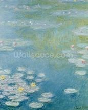 Nympheas at Giverny, 1908 (oil on canvas) wall mural thumbnail