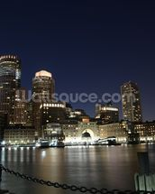 Boston Skyline wall mural thumbnail